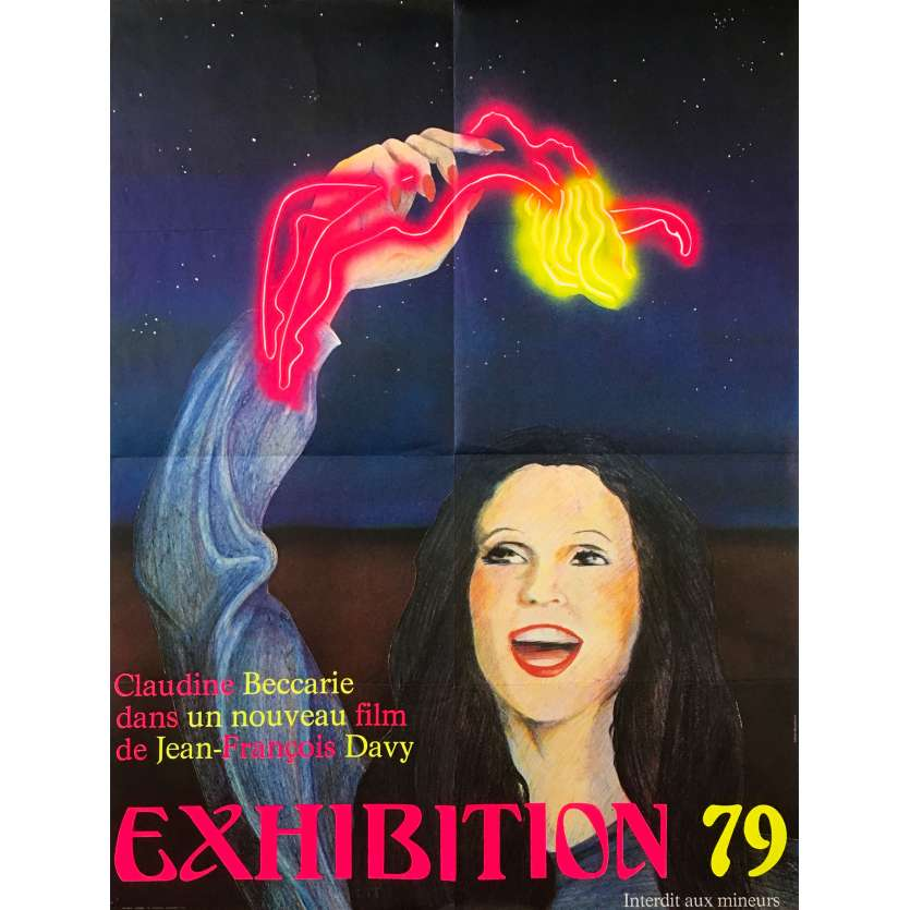 EXHIBITION 79 Original Movie Poster - 23x32 in. - 1979 - Jean-François Davy, Claudine Beccarie