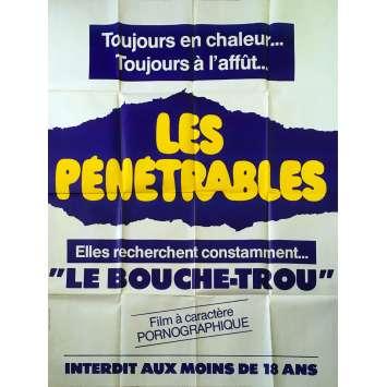 LES PENETRABLES Affiche de film - 120x160 cm. - 1979 - Hélène Chevalier, Jean-Claude Roy