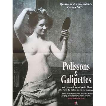POLISSONS ET GALIPETTES Original Movie Poster - 15x21 in. - 2002 - Cécile Babiole, Michel Reilhac