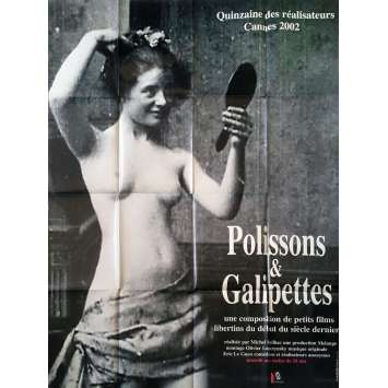 POLISSONS ET GALIPETTES Affiche de film - 120x160 cm. - 2002 - Michel Reilhac, Cécile Babiole