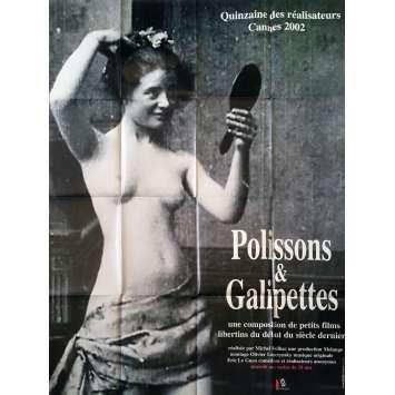 POLISSONS ET GALIPETTES Original Movie Poster - 47x63 in. - 2002 - Cécile Babiole, Michel Reilhac