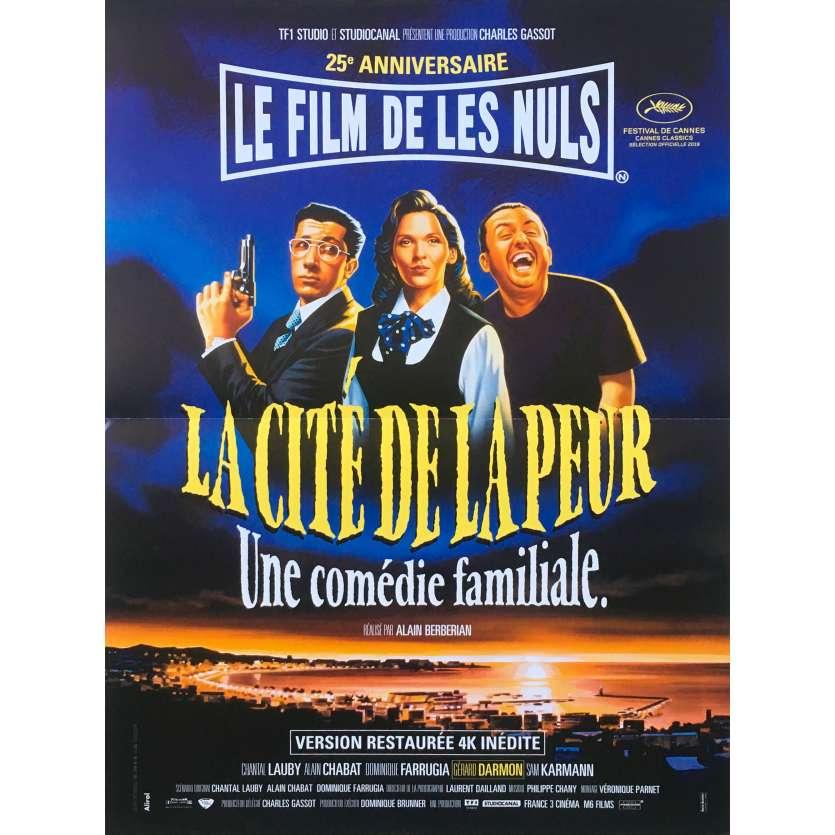 LA CITE DE LA PEUR 25 ANS Affiche de film - 40x60 cm. - 2019 - Les Nuls, Alain Berbérian