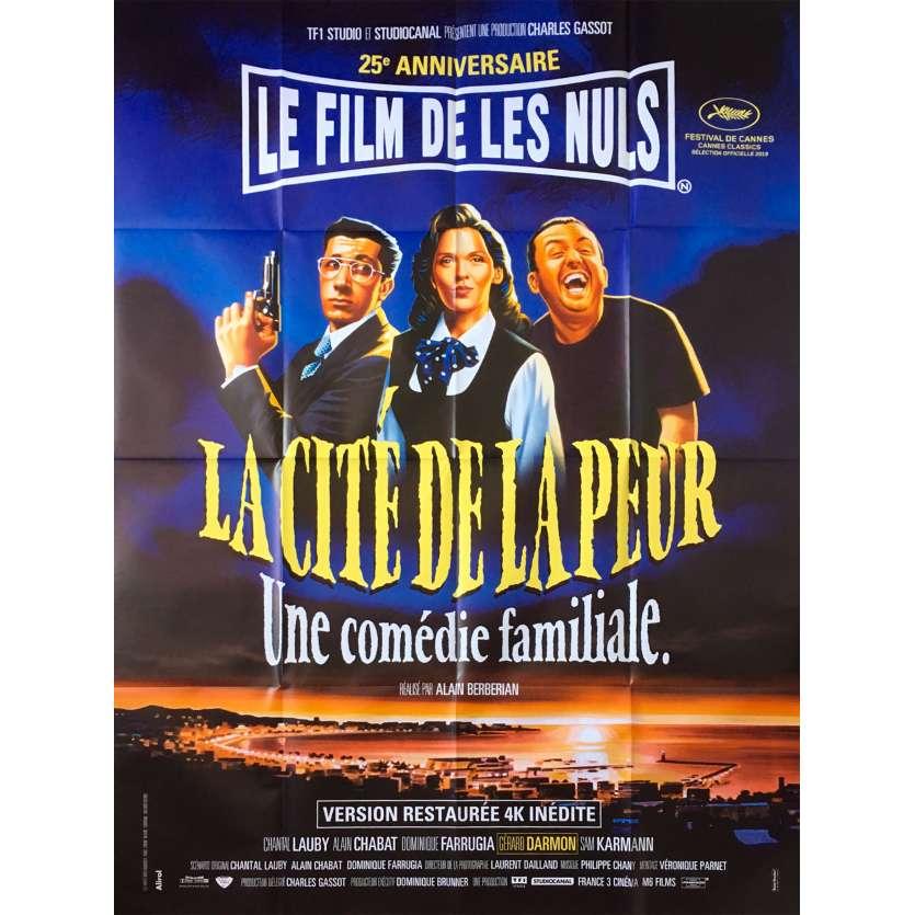 FEAR CITY Original Movie Poster - 47x63 in. - 2019 - Alain Berbérian, Les Nuls