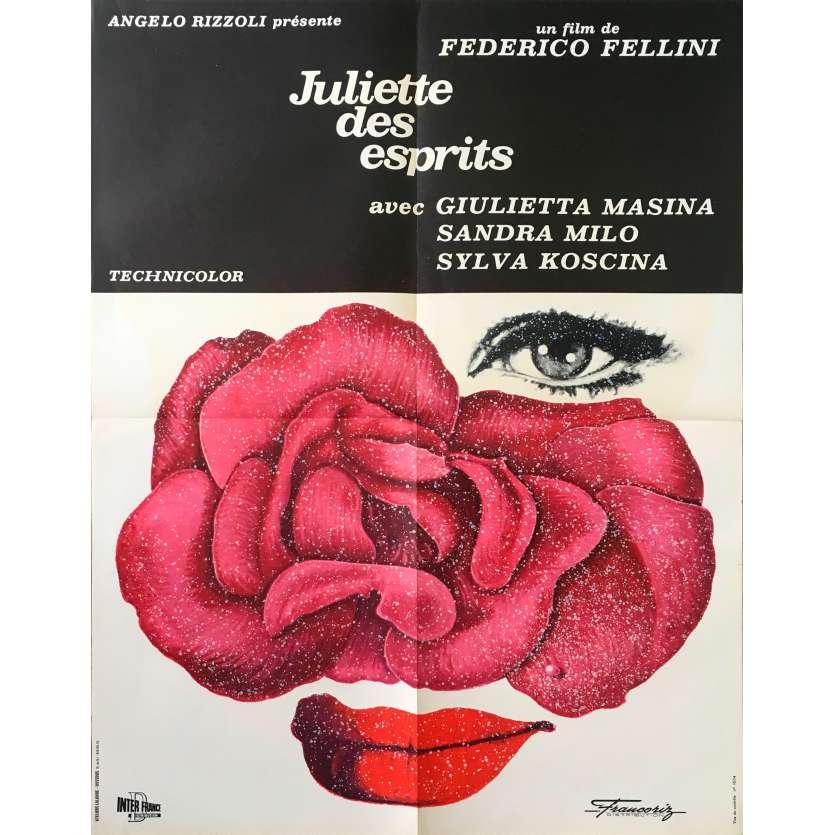 JULIET OF THE SPIRITS Original Movie Poster - 23x32 in. - 1965 - Federico Fellini, Giulietta Masina