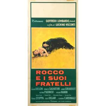 ROCCO AND HIS BROTHERS Original Movie Poster x8 - 13x28 in. - 1960 - Luchino Visconti, Alain Delon