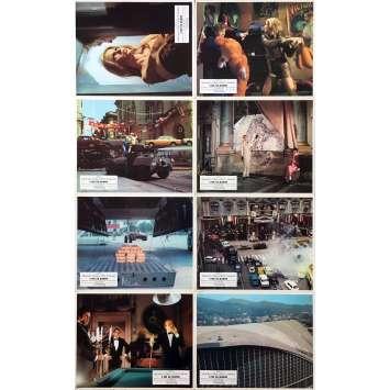 L'OR SE BARRE Photos de film x8 - Jeu A - 21x30 cm. - 1969 - Michael Caine, Peter Collinson