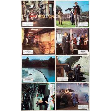 THE ITALIAN JOB Original Lobby Cards x8 - Set B - 9x12 in. - 1969 - Peter Collinson, Michael Caine