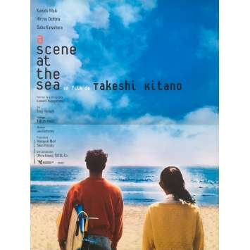 A SCENE AT THE SEA Original Movie Poster Style B - 15x21 in. - 1991 - Takeshi Kitano, Claude Maki
