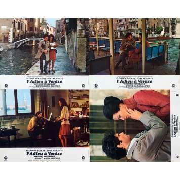 ADIEU A VENISE Photos de film x4 - 21x30 cm. - 1970 - Tony Musante, Enrico Maria Salerno