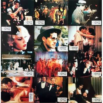 COTTON CLUB Original Lobby Cards x12 - 9x12 in. - 1984 - Francis Ford Coppola, Richard Gere