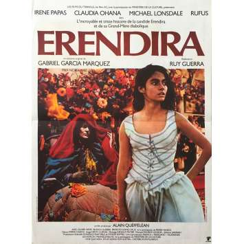 ERENDIRA Affiche de film - 40x60 cm. - 1983 - Irene Papas, Ruy Guerra