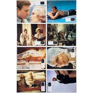 GATSBY LE MAGNIFIQUE Photos de film x8 - 21x30 cm. - 1974 - Warren Beatty, Jack Clayton