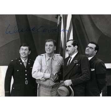 LA PEAU Photo signée - 18x24 cm. - 1981 - Marcello Mastroianni, Liliana Cavani