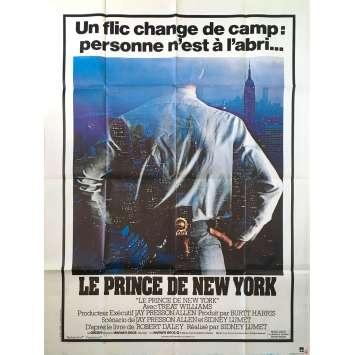 PRINCE OF THE CITY Original Movie Poster - 47x63 in. - 1981 - Sidney Lumet, Treat Williams