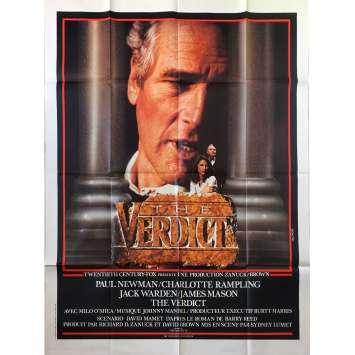 THE VERDICT Original Movie Poster - 47x63 in. - 1982 - Sydney Lumet, Paul Newman