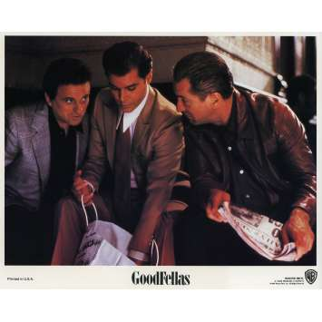 GOODFELLAS Original Lobby Card N08 - 8x10 in. - 1990 - Martin Scorsese, Robert de Niro