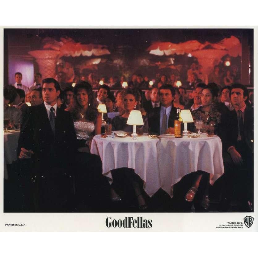 LES AFFRANCHIS Photo de film N07 - 20x25 cm. - 1990 - Robert de Niro, Martin Scorsese