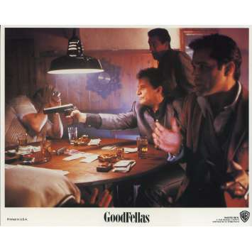 LES AFFRANCHIS Photo de film N05 - 20x25 cm. - 1990 - Robert de Niro, Martin Scorsese