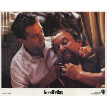 GOODFELLAS Original Lobby Card N04 - 8x10 in. - 1990 - Martin Scorsese, Robert de Niro