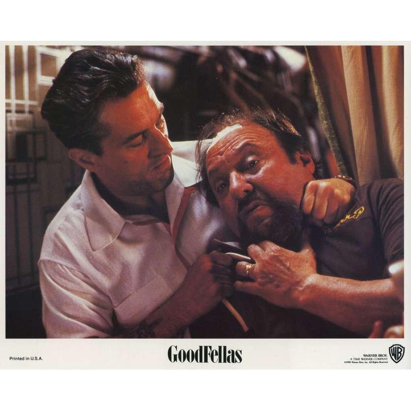 LES AFFRANCHIS Photo de film N04 - 20x25 cm. - 1990 - Robert de Niro, Martin Scorsese
