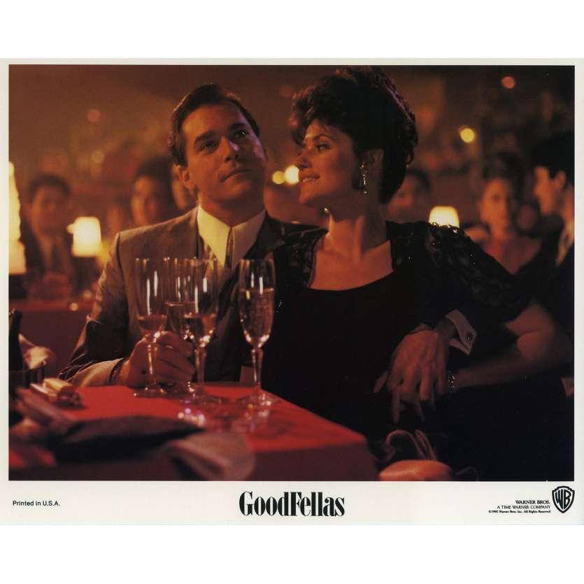 GOODFELLAS Original Lobby Card N03 - 8x10 in. - 1990 - Martin Scorsese, Robert de Niro