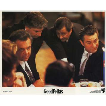 GOODFELLAS Original Lobby Card N02 - 8x10 in. - 1990 - Martin Scorsese, Robert de Niro