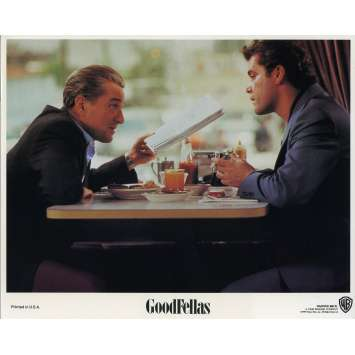LES AFFRANCHIS Photo de film N01 - 20x25 cm. - 1990 - Robert de Niro, Martin Scorsese