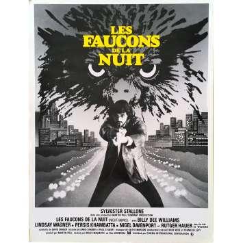 NIGHTHAWKS Original Herald - 9x12 in. - 1981 - Sylvester Stallone, Rutger Hauer