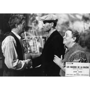 LES RAISINS DE LA COLERE Photo de presse N01 - 21x30 cm. - R1970 - Henri Fonda, John Ford