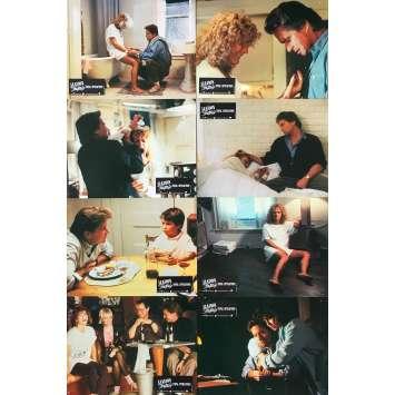 LIAISON FATALE Photos de film x8 - 21x30 cm. - 1987 - Michael Douglas, Glenn Close, Adrian Lyne
