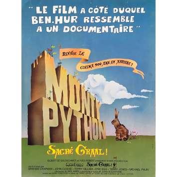 MONTY PYTHON SACRE GRAAL Synopsis - 21x30 cm. - 1975 - John Cleese, Terry Gilliam