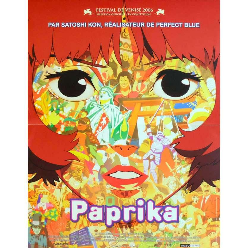 PAPRIKA Affiche de film 40x60 - 1996 - Megumi Hayashibara, Satoshi Kon