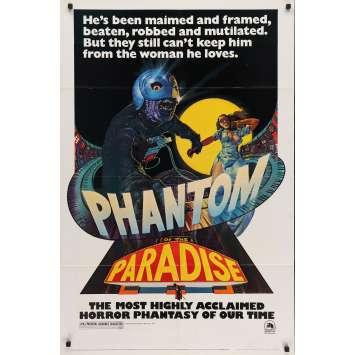 PHANTOM OF THE PARADISE Affiche US '74 Brian De Palma movie Poster