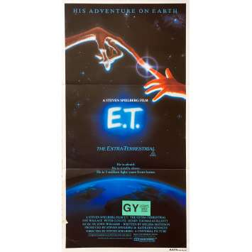 E.T. L'EXTRA-TERRESTRE Affiche de film - 33x78 cm. - 1982 - Dee Wallace, Steven Spielberg