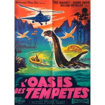 THA LAND UNKNOWN Original Movie Poster - 23x32 in. - 1957 - Virgil W. Vogel, Jock Mahoney
