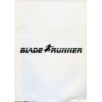 BLADE RUNNER Dossier de presse N08 - 21x30 cm. - 1982 - Harrison Ford, Ridley Scott