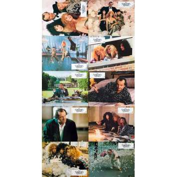 WITCHES OF EASTWICK Original Lobby Cards x10 - 9x12 in. - 1987 - George Miller, Jack Nicholson
