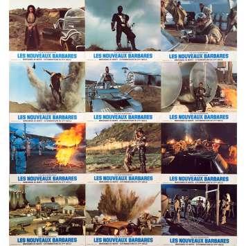 WARRIORS OF THE WASTELAND Original Lobby Cards x12 - 9x12 in. - 1983 - Enzo G. Castellari, Fred Williamson