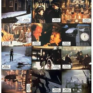 YOUNG SHERLOCK HOLMES Original Lobby Cards x12 - 9x12 in. - 1985 - Barry Levinson, Nicholas Rowe