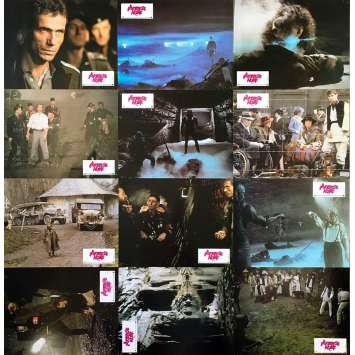 THE KEEP Original Lobby Cards x12 - 9x12 in. - 1983 - Michael Mann, Scott Glenn