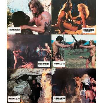 IRONMASTER LA GUERRE DU FER Photos de film x6 - 21x30 cm. - 1983 - Sam Pasco, Umberto Lenzi