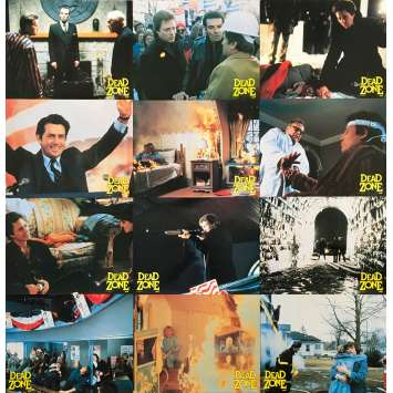DEAD ZONE Photos de film x12 - 21x30 cm. - 1984 - Christopher Walken, David Cronenberg