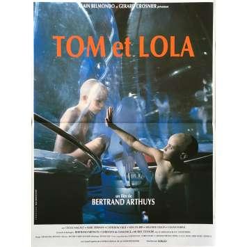 TOM ET LOLA Affiche de film - 40x60 cm. - 1990 - Cécile Magnet, Bertrand Arthuys