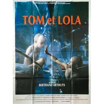 TOM ET LOLA Affiche de film - 120x160 cm. - 1990 - Cécile Magnet, Bertrand Arthuys