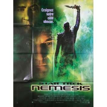 STAR TREK NEMESIS Affiche de film - 120x160 cm. - 2002 - Patrick Stewart, Stuart Baird
