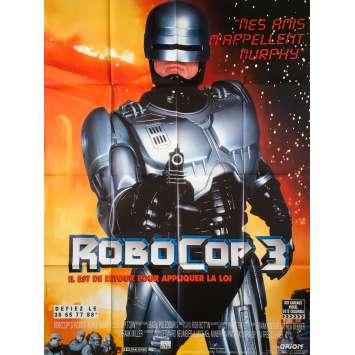 ROBOCOP 3 Affiche de film - 120x160 cm. - 1993 - Nancy Allen, Fred Dekker