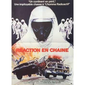REACTIONS EN CHAINE Affiche de film - 40x60 cm. - 1980 - Steve Bisley, Ian Barry
