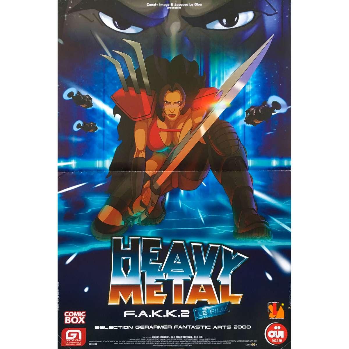 Watch Heavy Metal 2000 (2000) Full Movie Online Free