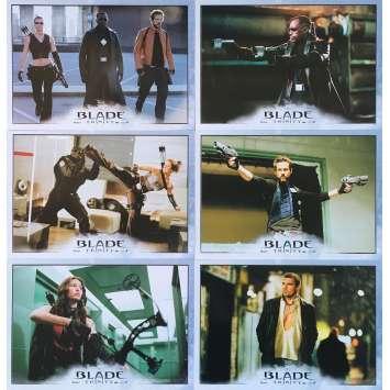 BLADE TRINITY Photos de film x6 - 21x30 cm. - 2004 - Wesley Snipes, David S. Goyer