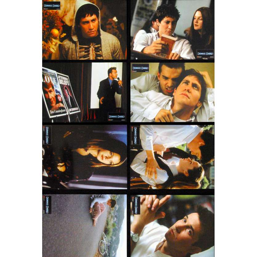 DONNIE DARKO Photos d'exploitation x8 '01 Patrick Swayze Jake Gyllenhall Lobby cards